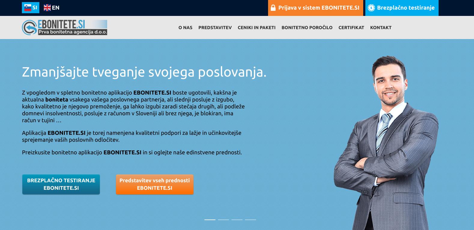 spletni marketing - bonitetne informacije